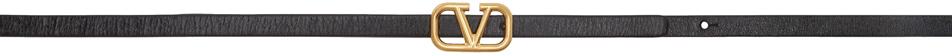 Valentino Garavani Reversible Black & Red Valentino Garavani VLogo Belt
