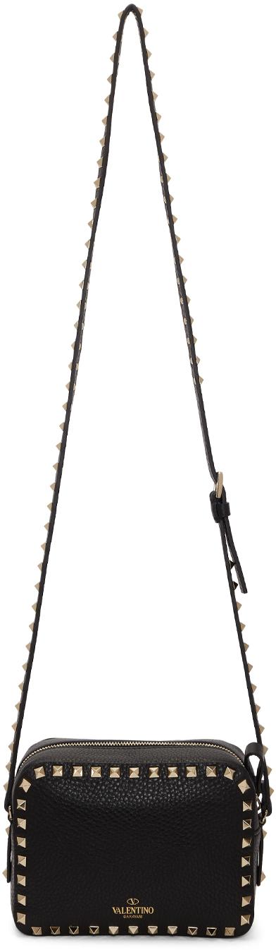 Valentino Garavani Black Valentino Garavani Rockstud Crossbody Bag