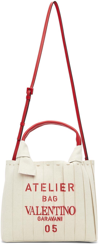 Valentino Garavani Off-White Valentino Garavani 'Atelier Bag 05' Tote