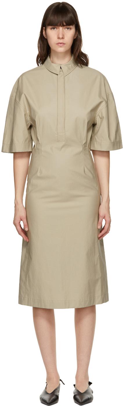 Beige Safina Dress