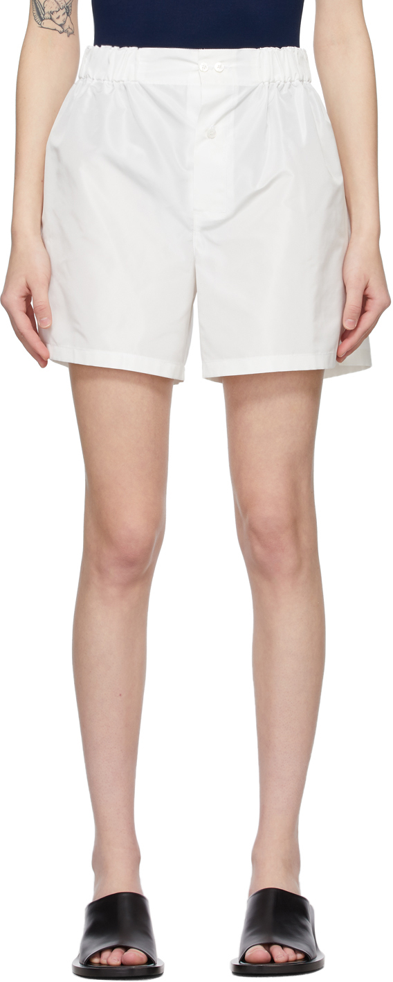White Stacie Shorts
