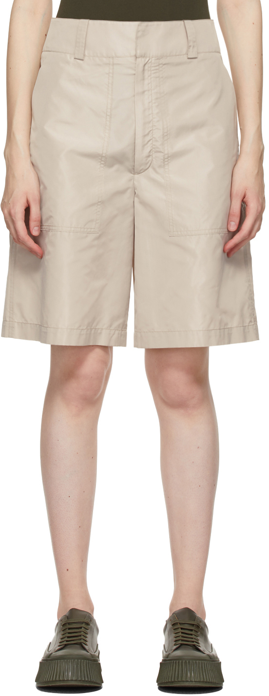 Beige Sebastien Shorts