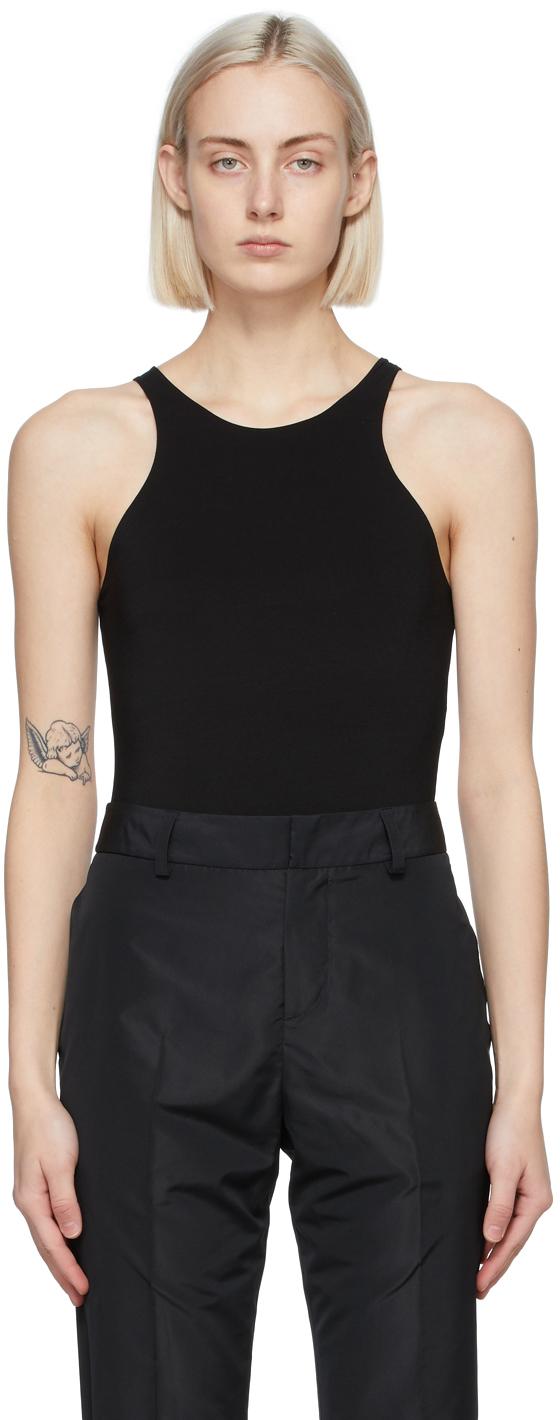 Black Salome Bodysuit