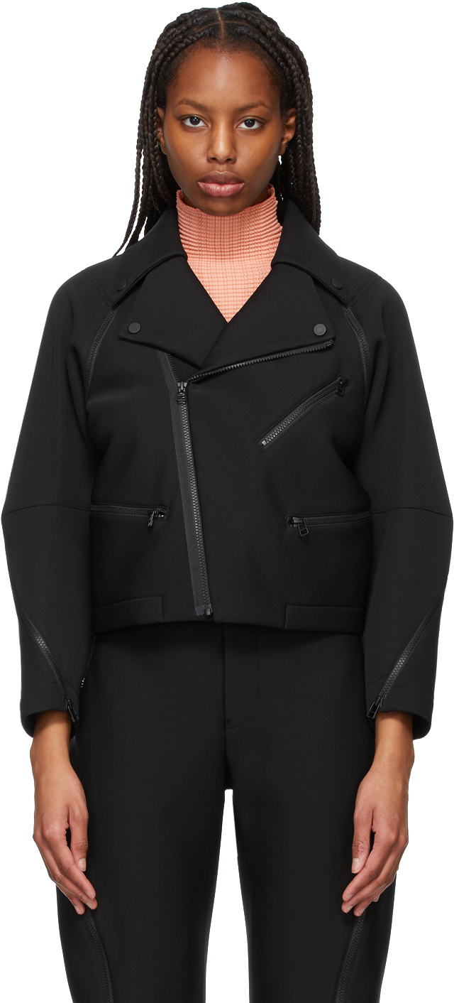 Black Out A Piece Rider Jacket