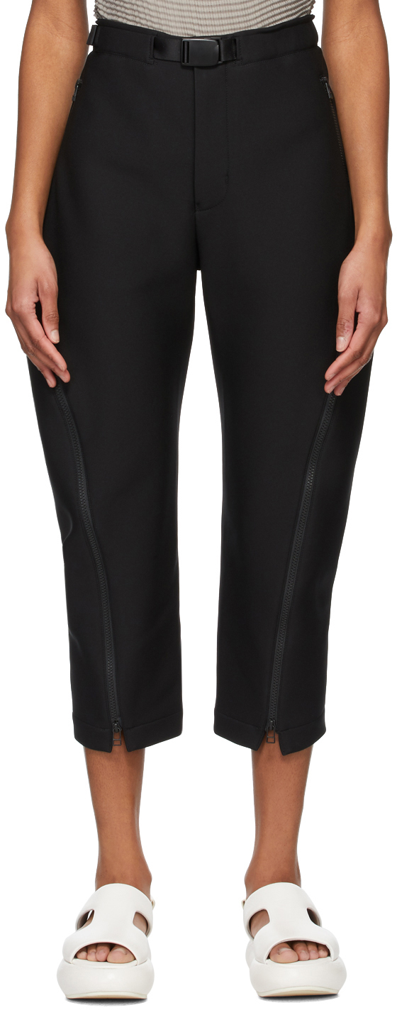Black One A Piece Trousers