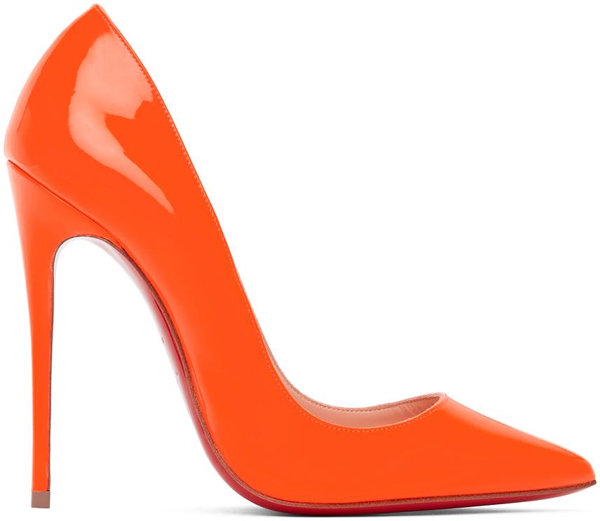 Orange So Kate 120 Heels