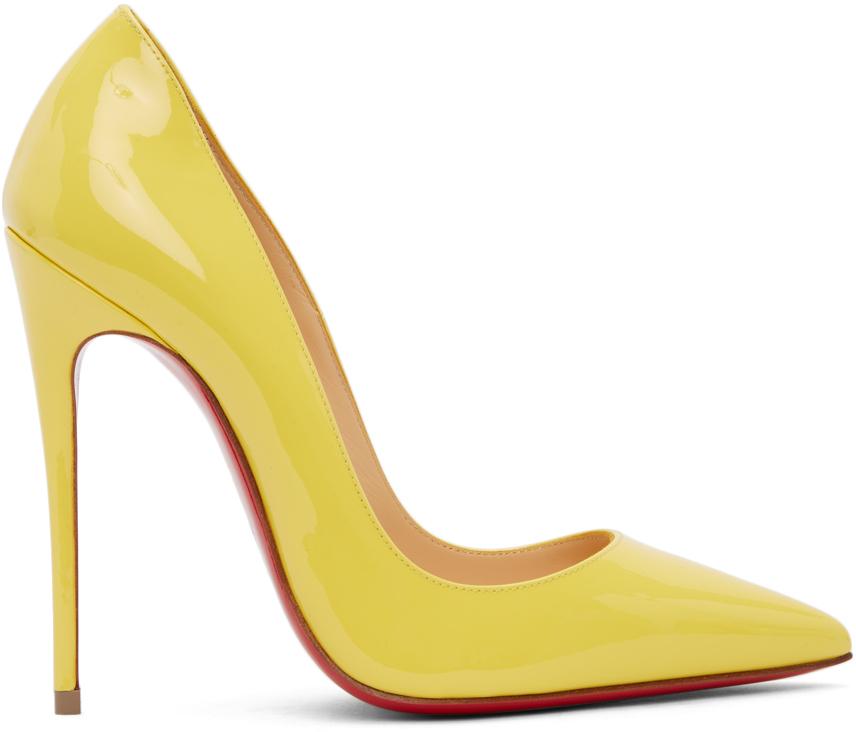 Yellow So Kate 120 Heels