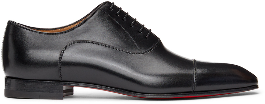Black Greggo Orlato Lace-Up Loafers