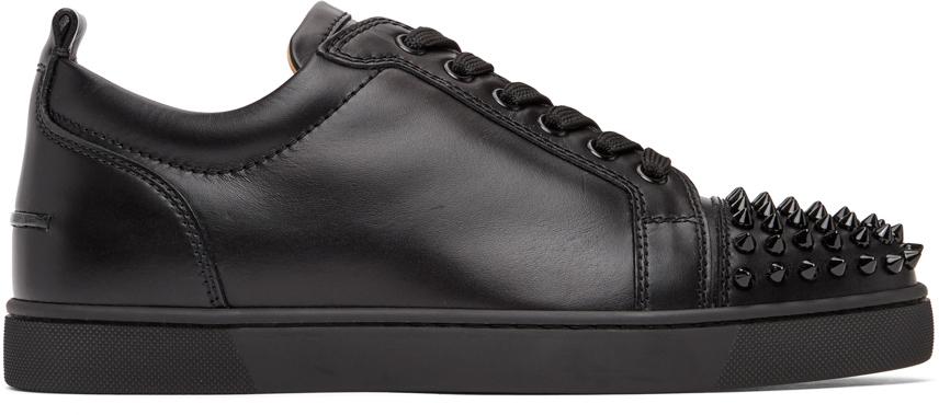 Black Louis Junior Spikes Sneakers
