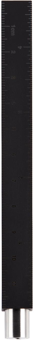 Silver & Black Type-A Pen