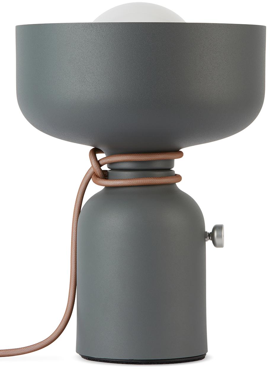 Grey Spotlight Volumes C/A Table Lamp