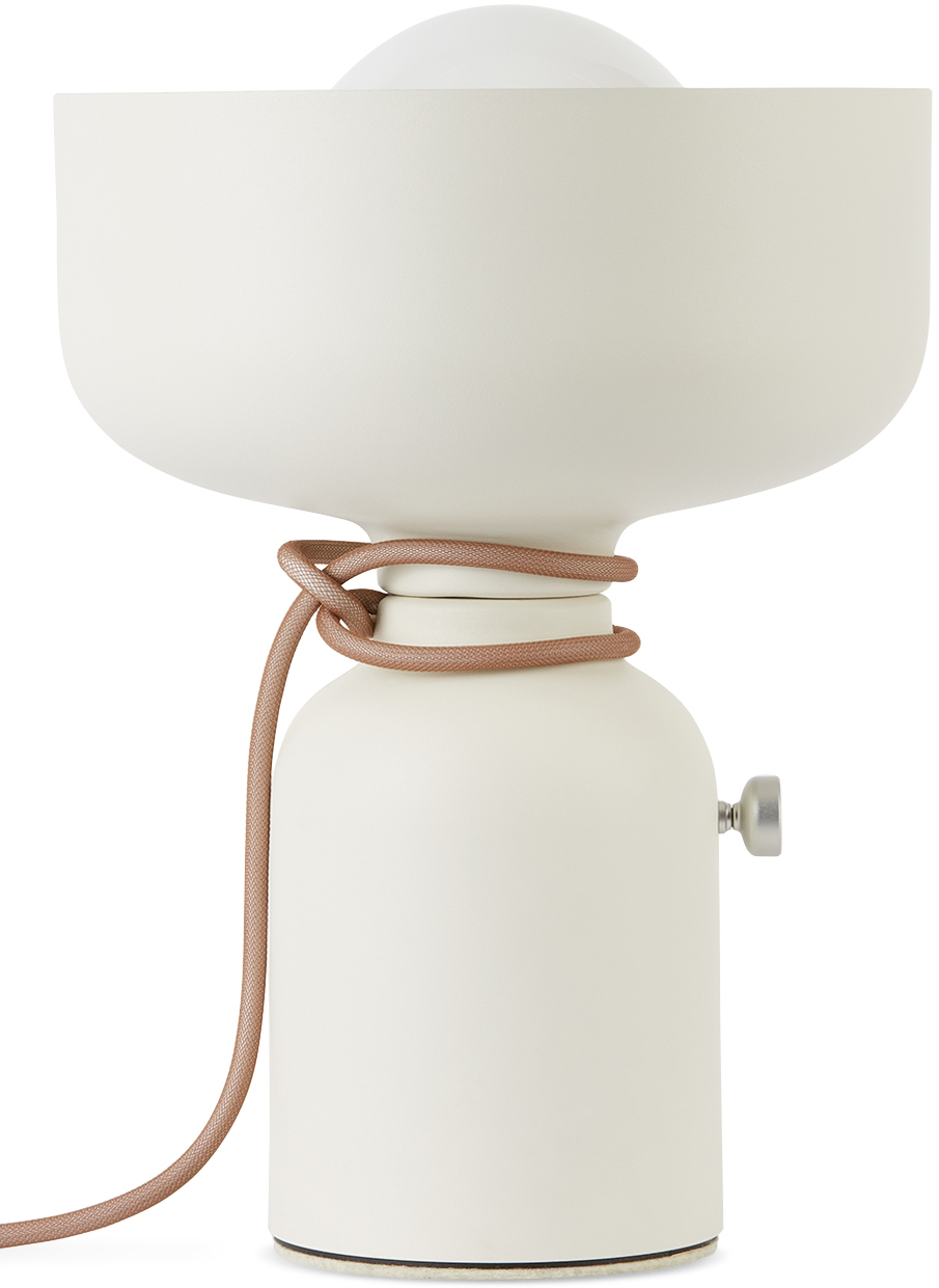 White Spotlight Volumes C/A Table Lamp