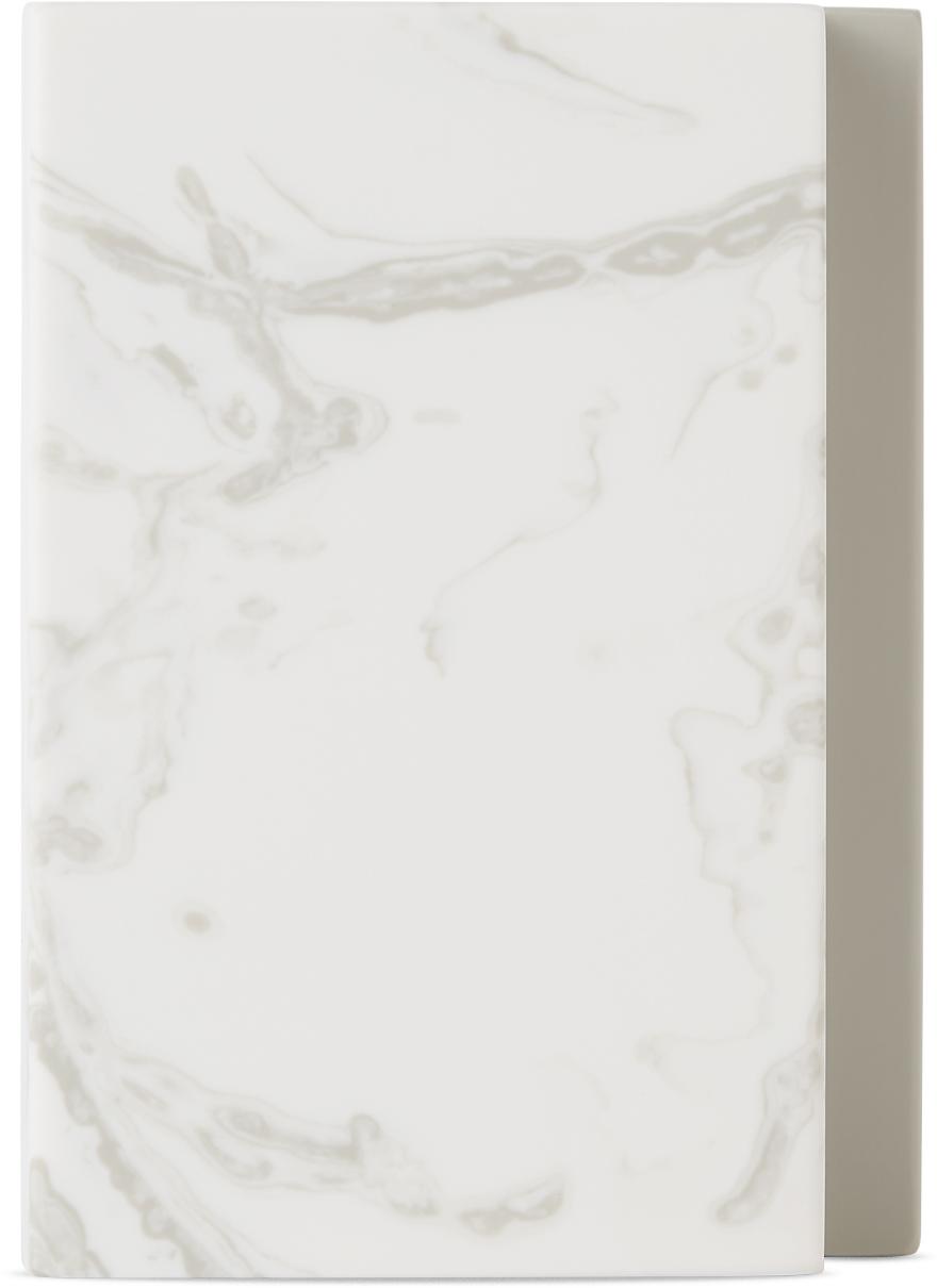 Grey & White Mini Versa Vase