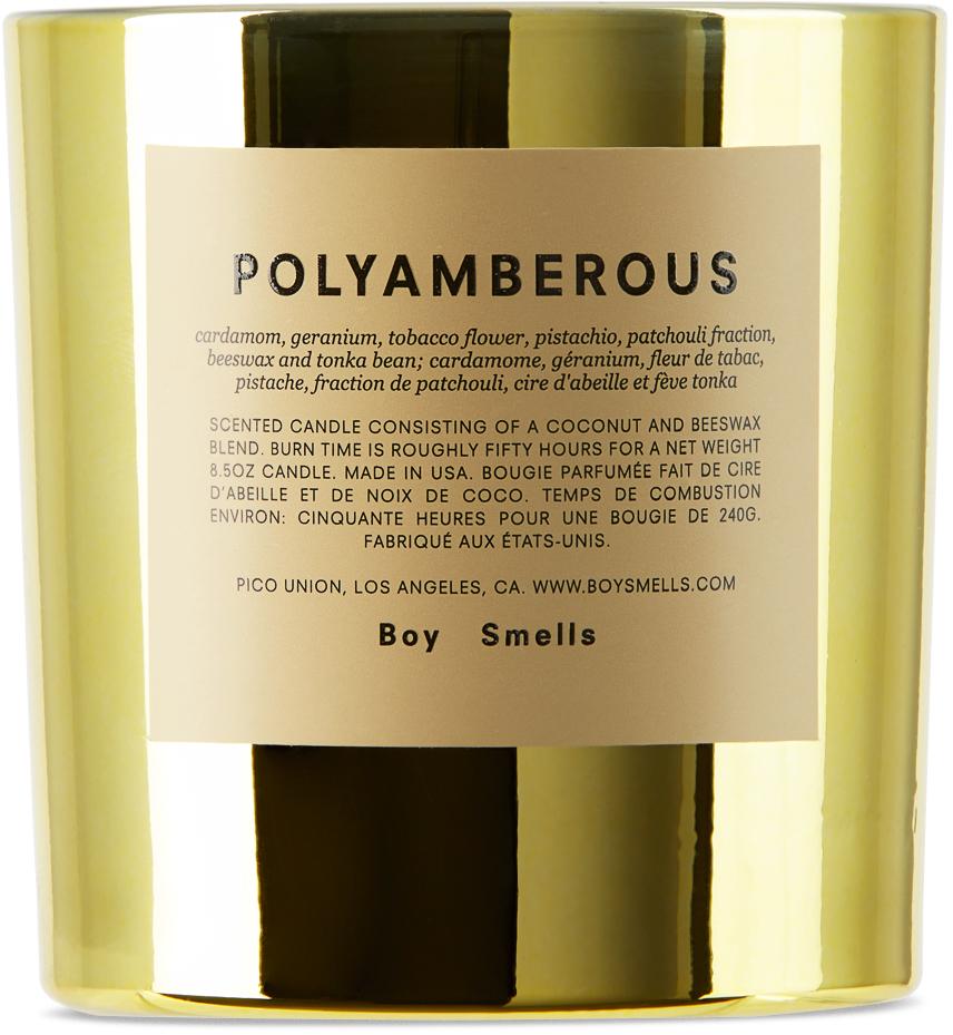 Polyamberous Candle