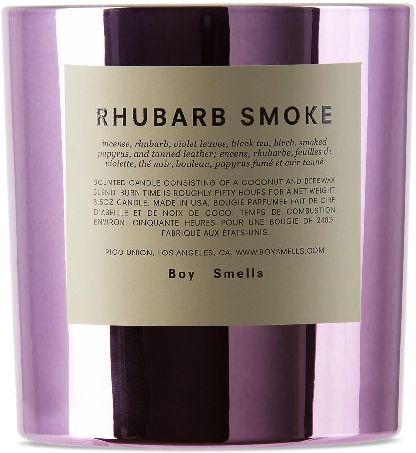 Rhubarb Smoke Candle