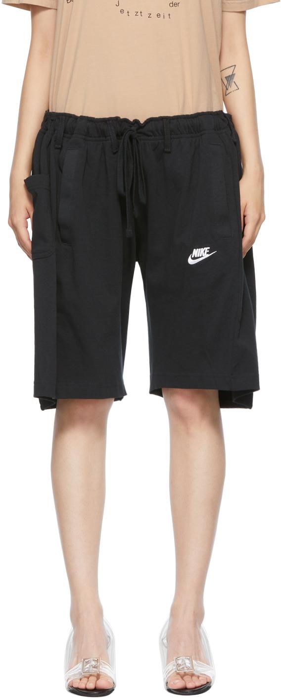 Black Nº69 Lost In Contemplation Variation Overjogging Shorts