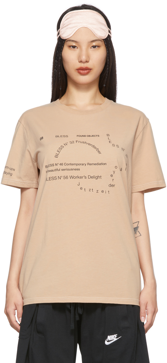 Beige Nº69 Lost In Contemplation Multicollection II T-Shirt