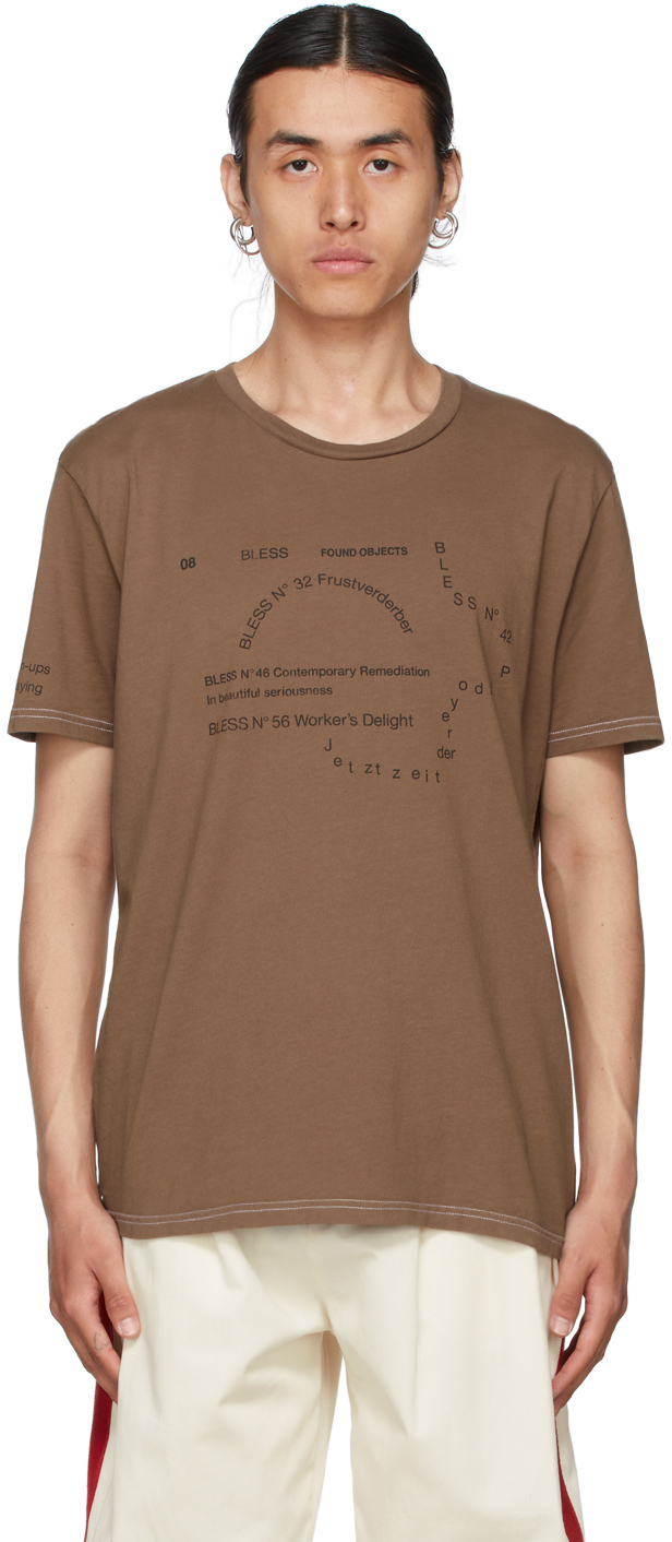 Brown Nº69 Lost In Contemplation Multicollection II T-Shirt