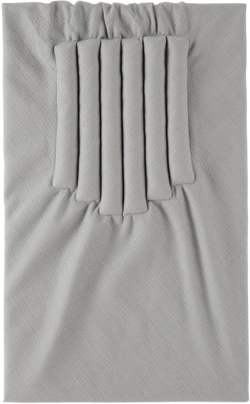 Reversible Grey Wool Seatpadding Blanket