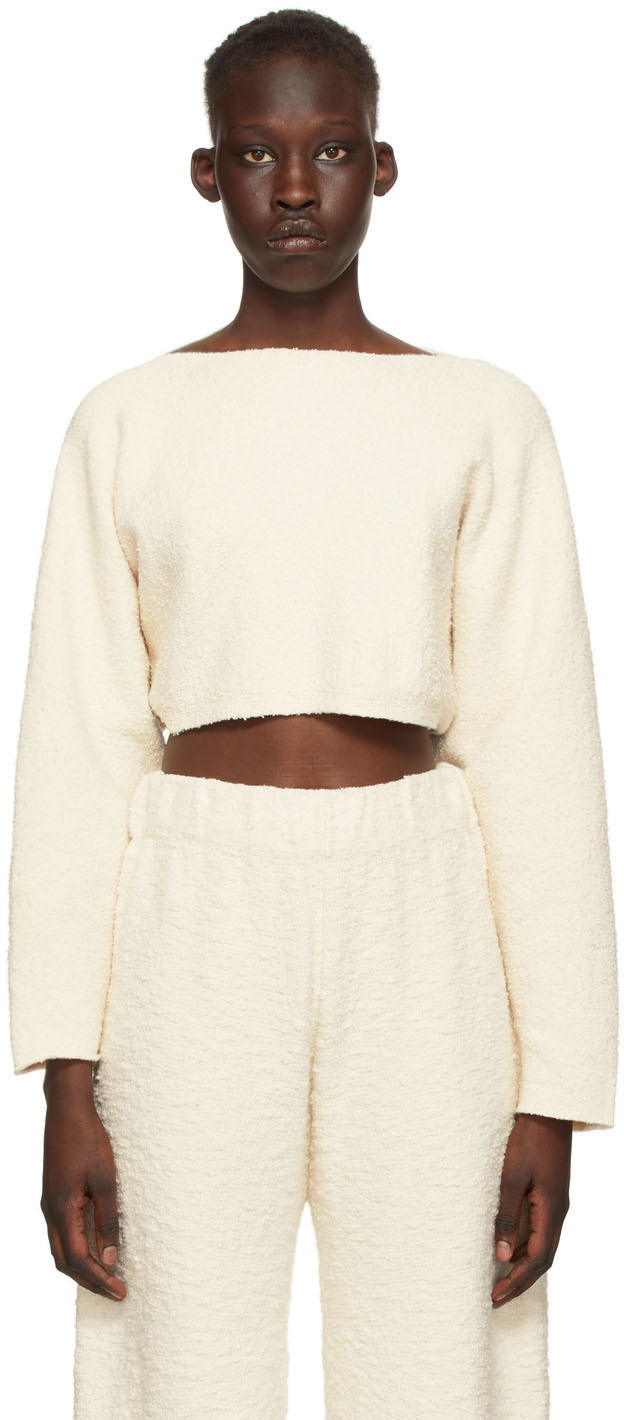 Off-White Sleeves Pullover Sweater