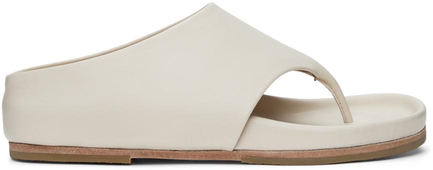 Off-White Tri Slide Sandals