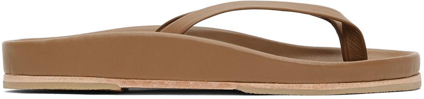 Taupe Zori Sandals