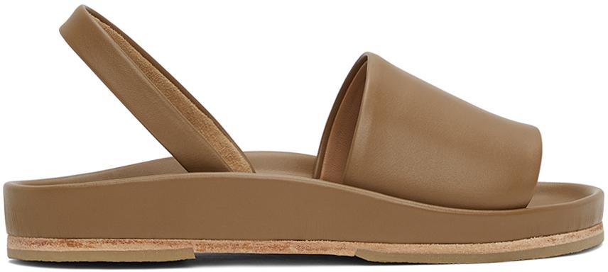 Taupe Contour Sandals