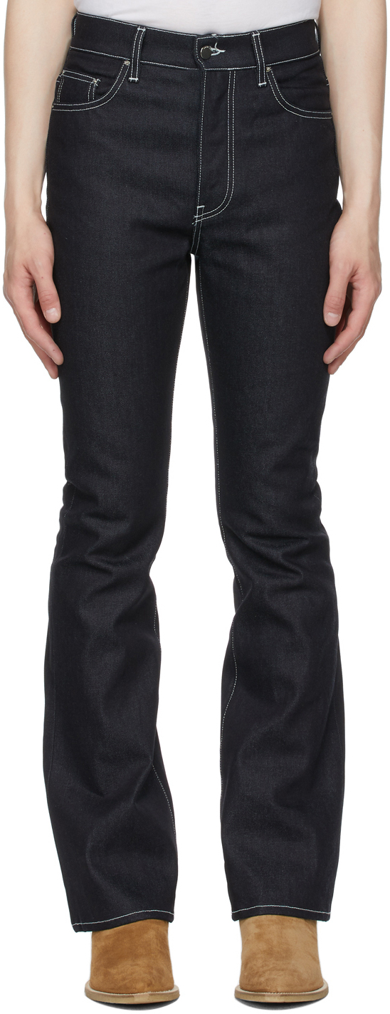 AMIRI Indigo Flare Leg Jeans