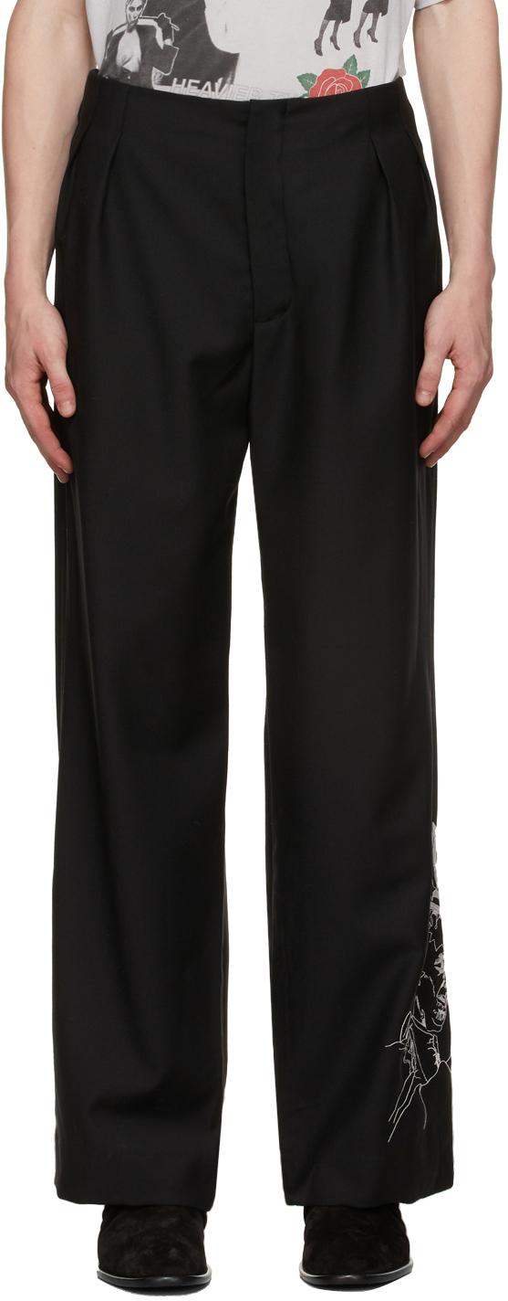 Black Christ Compels Trousers