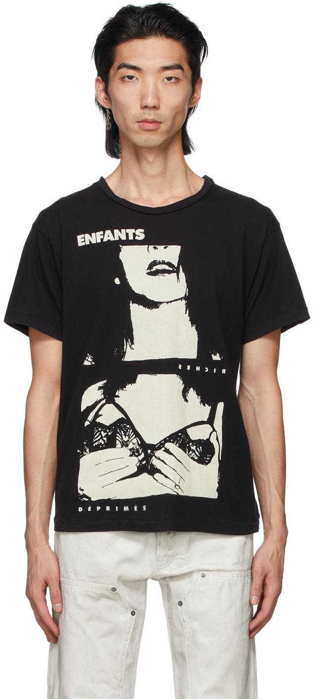 Black 'The Calendar' T-Shirt