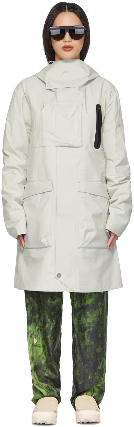* Grey Storm Taped Coat