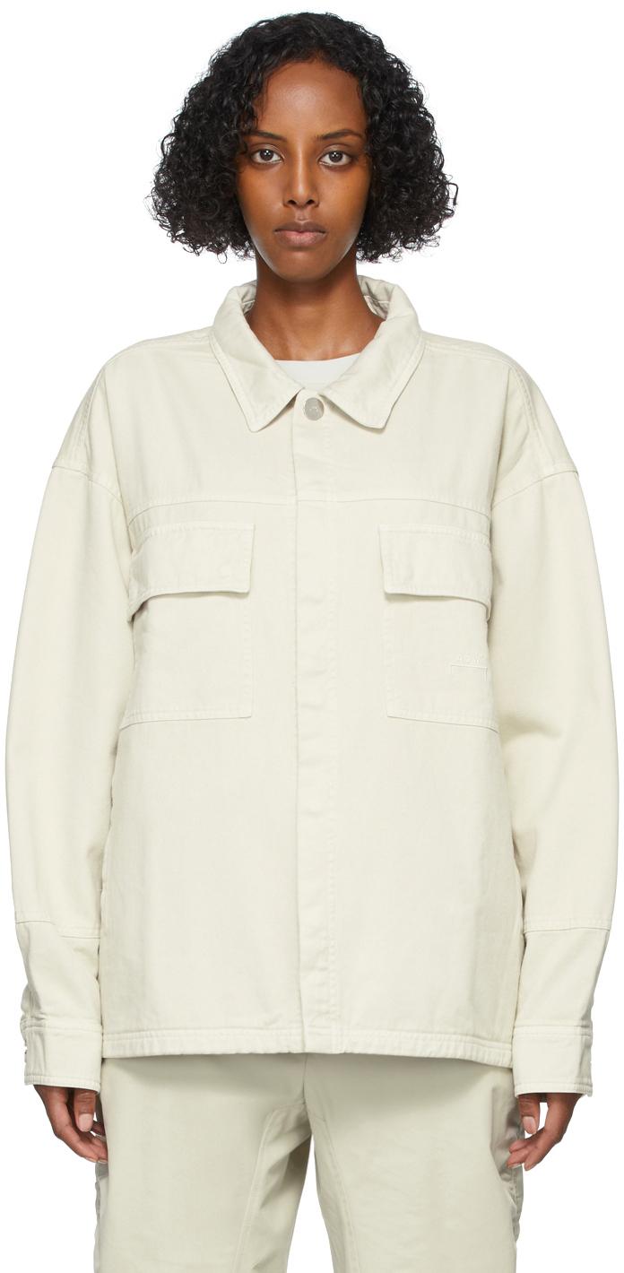 * Beige Syncline Overshirt Jacket