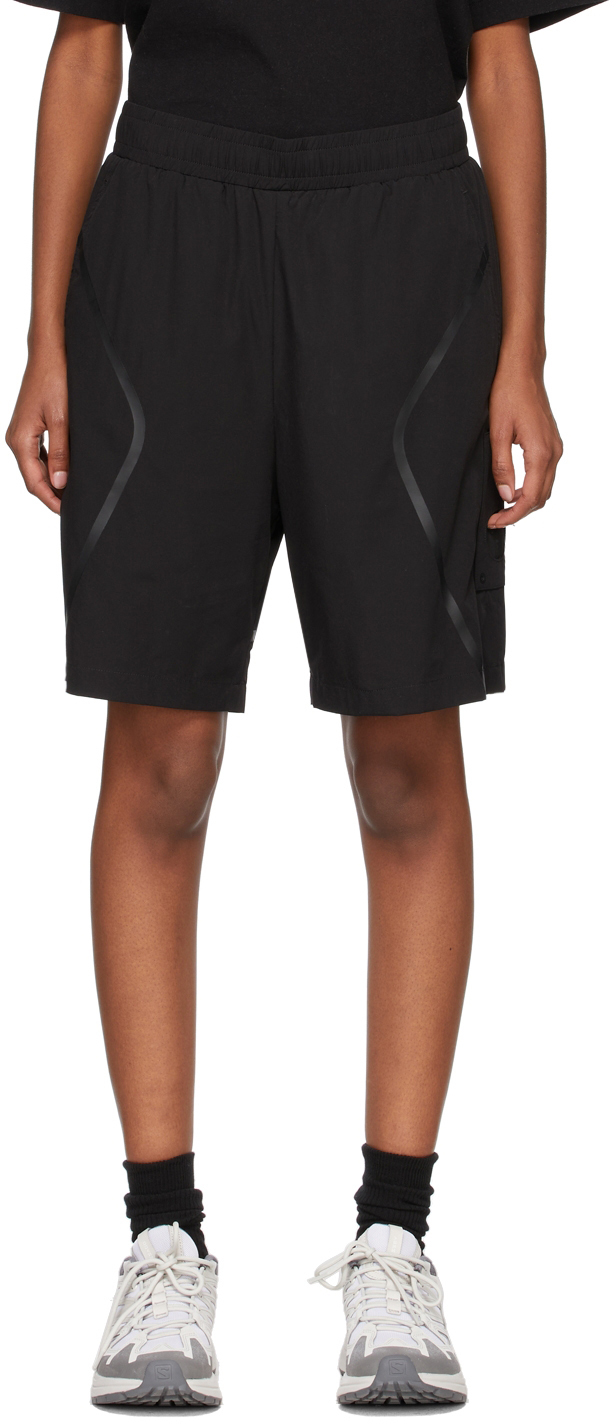 * Black Welded Shorts