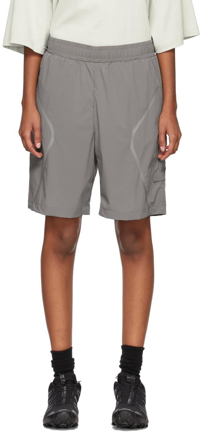 * Grey Welded Shorts