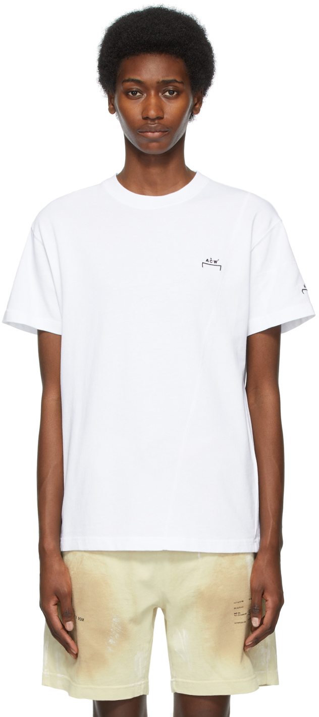 * White Essential Crewneck T-Shirt