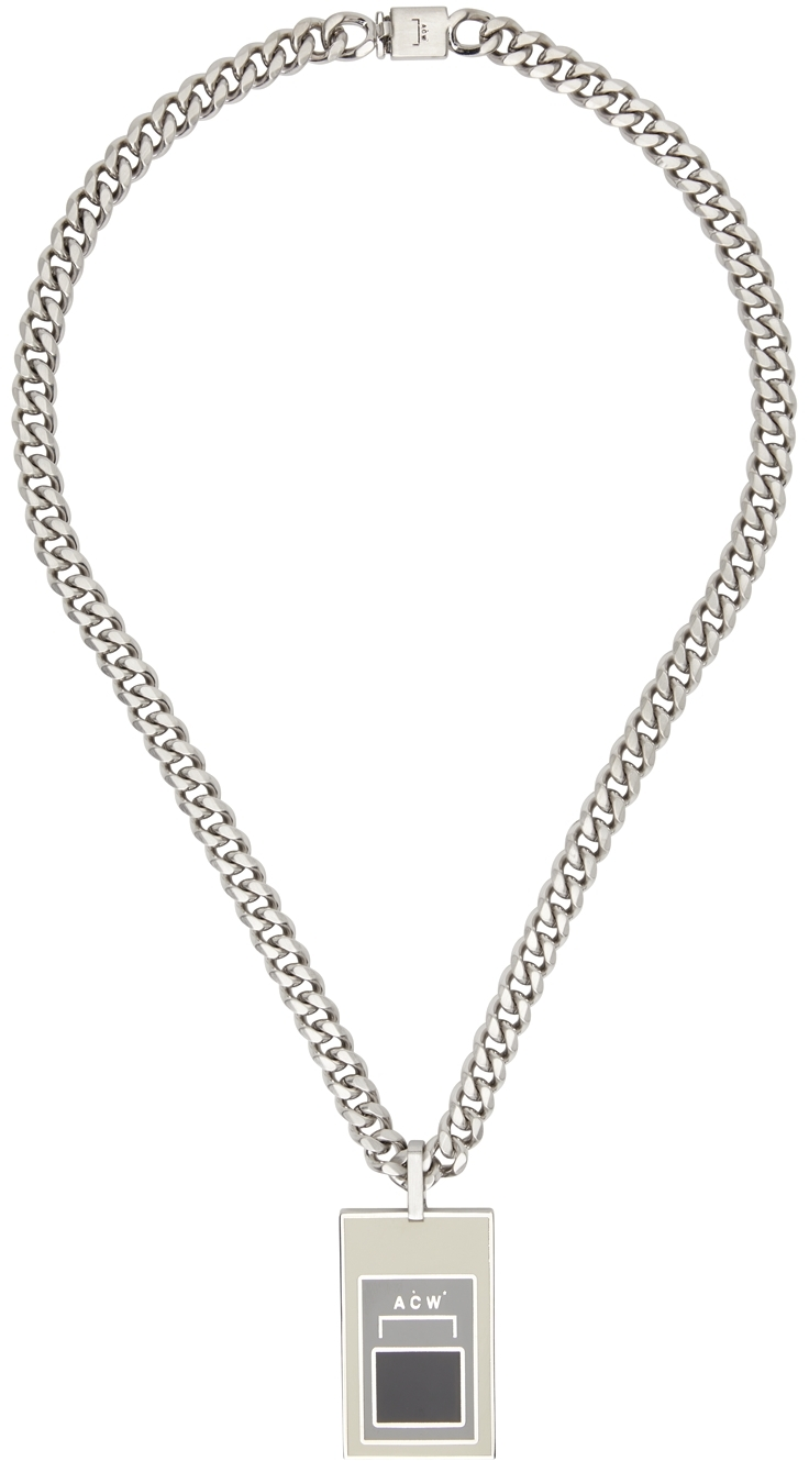 * Silver Alloy Necklace