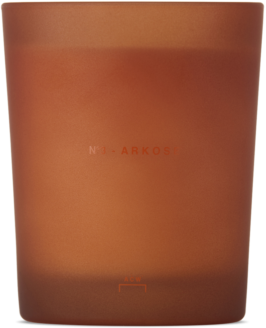* No. 3 Arkose Scented Candle