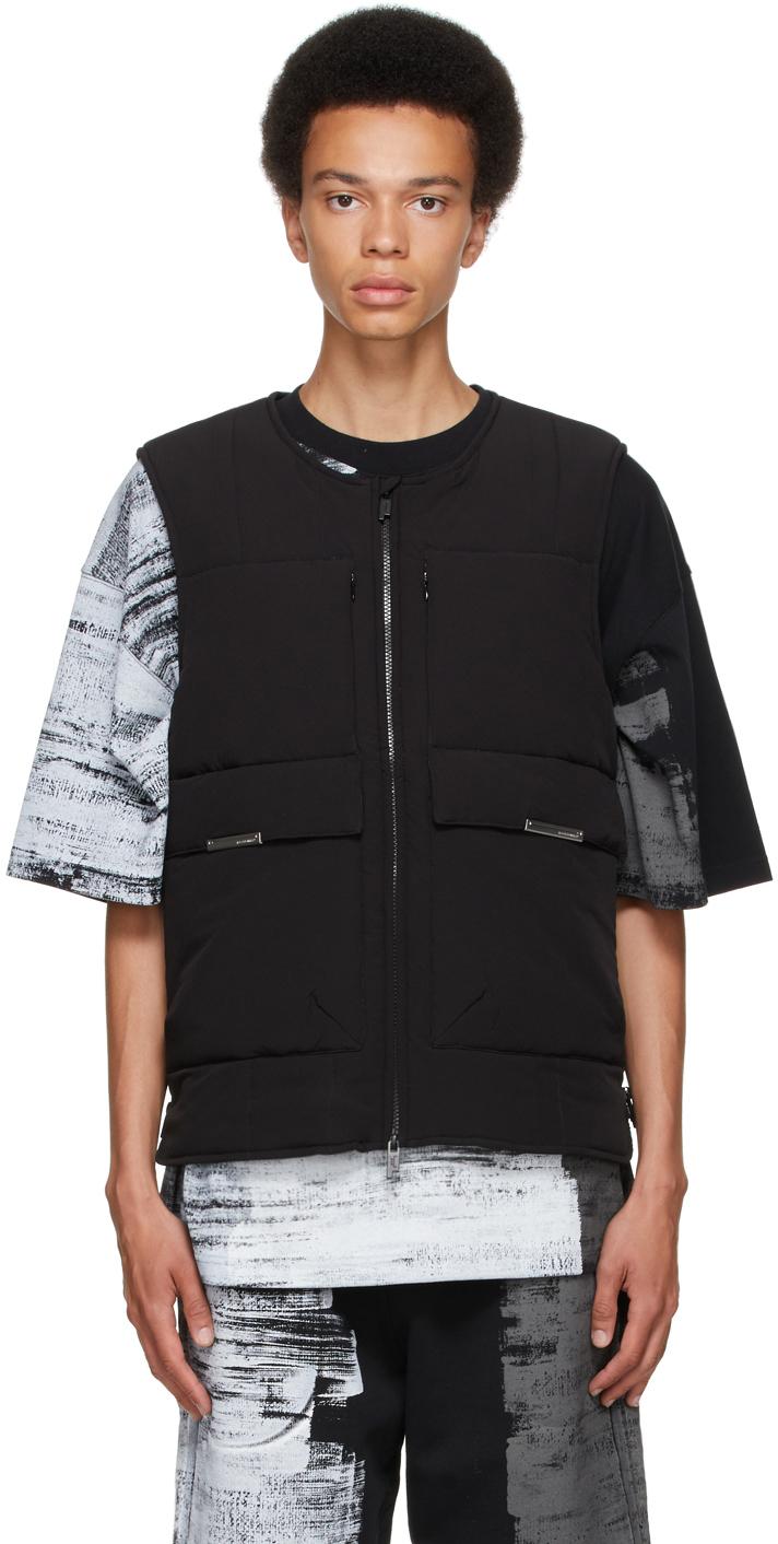 * Black Multi Pocket Vest