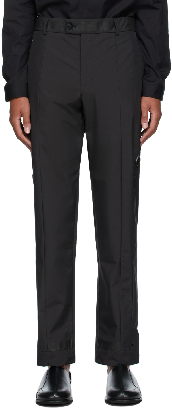 * Black Essential Technical Trousers
