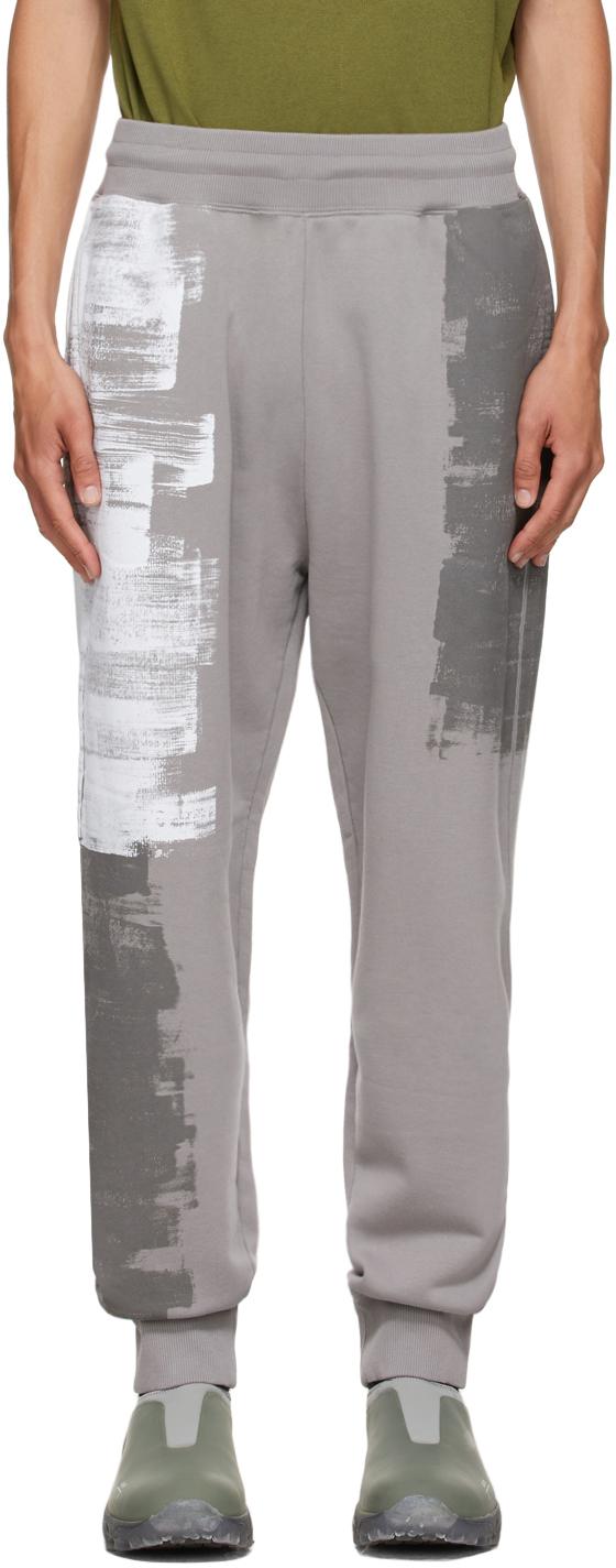 * Grey Brush Stroke Lounge Pants