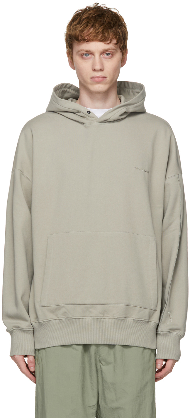 * Grey Dissection Hoodie