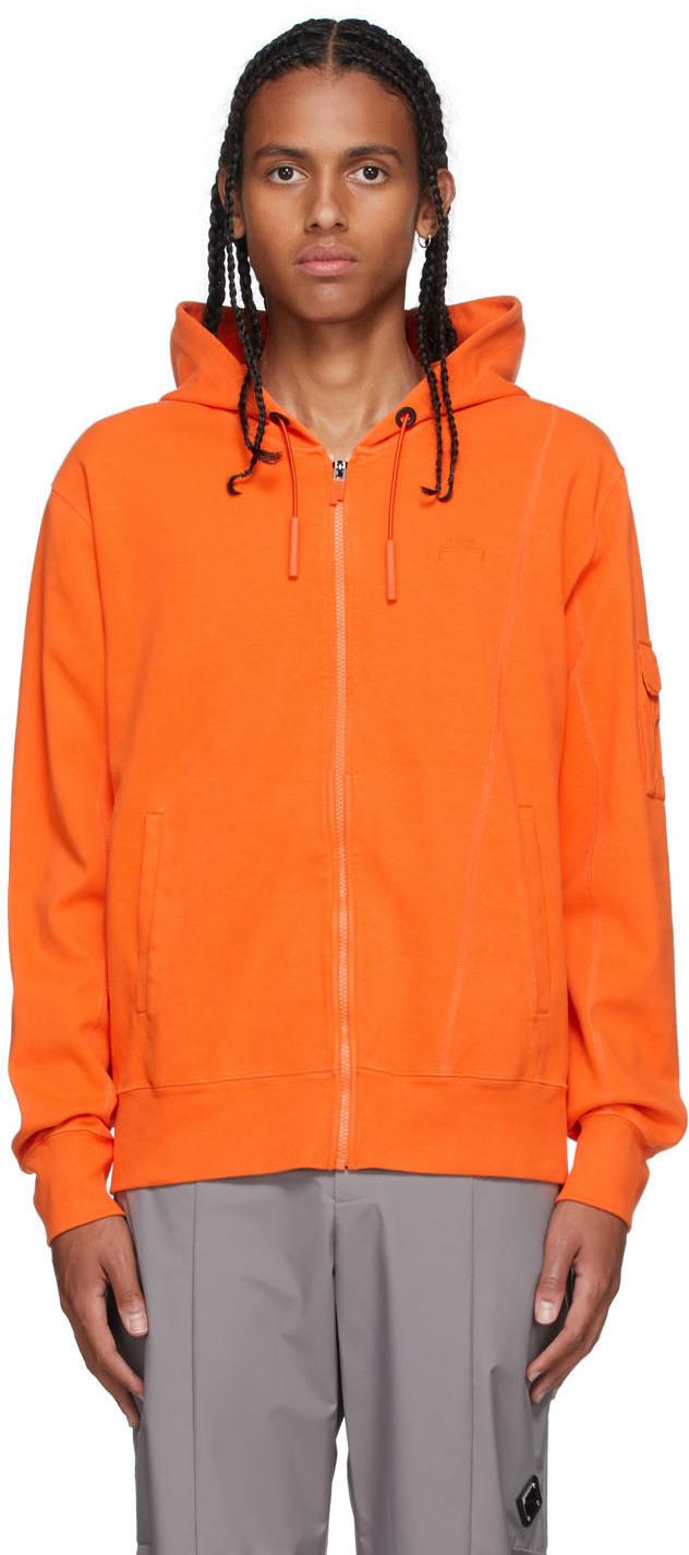* Orange Essential Hoodie