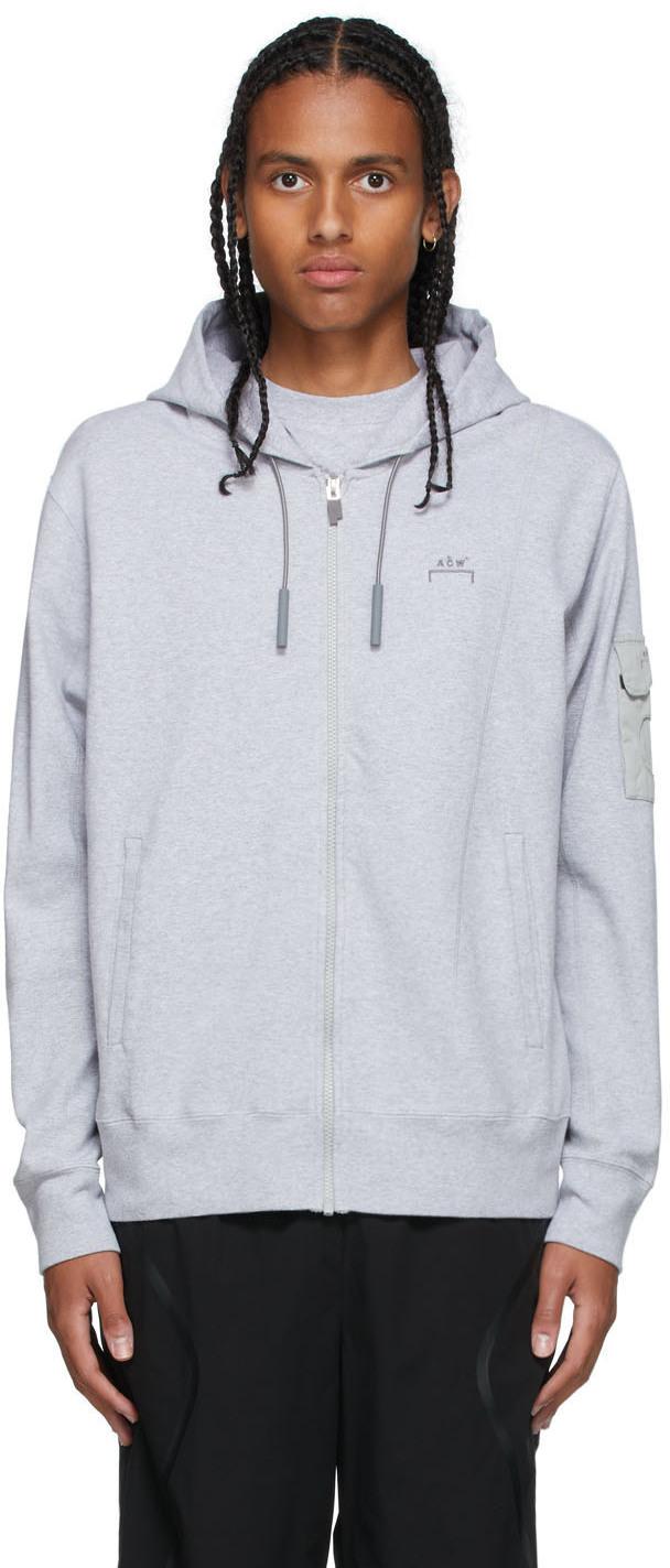 * Grey Essential Hoodie
