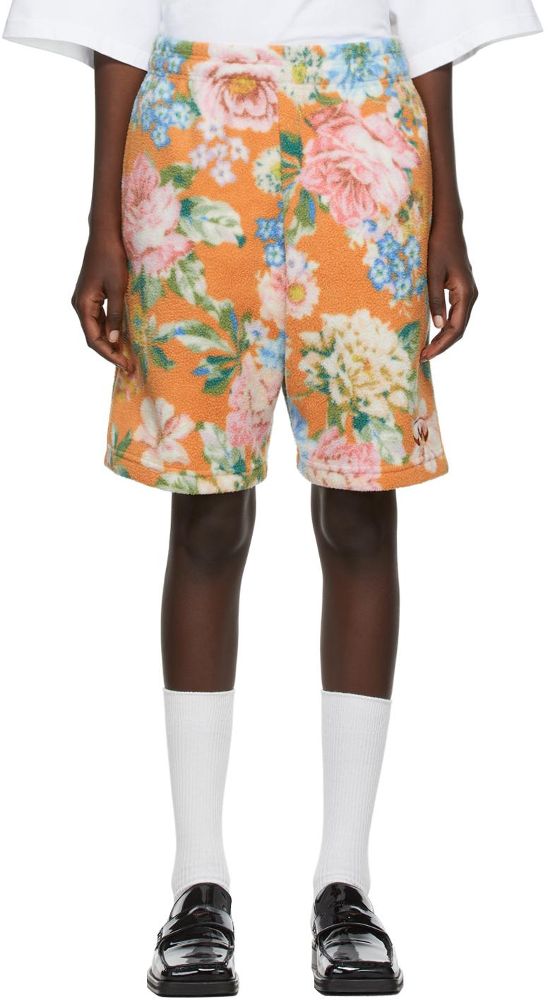 Orange Barambo Shorts