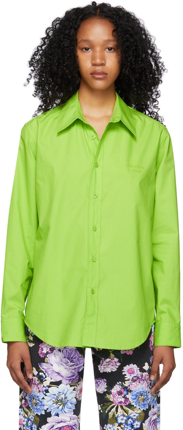 Green Logo Classic Shirt