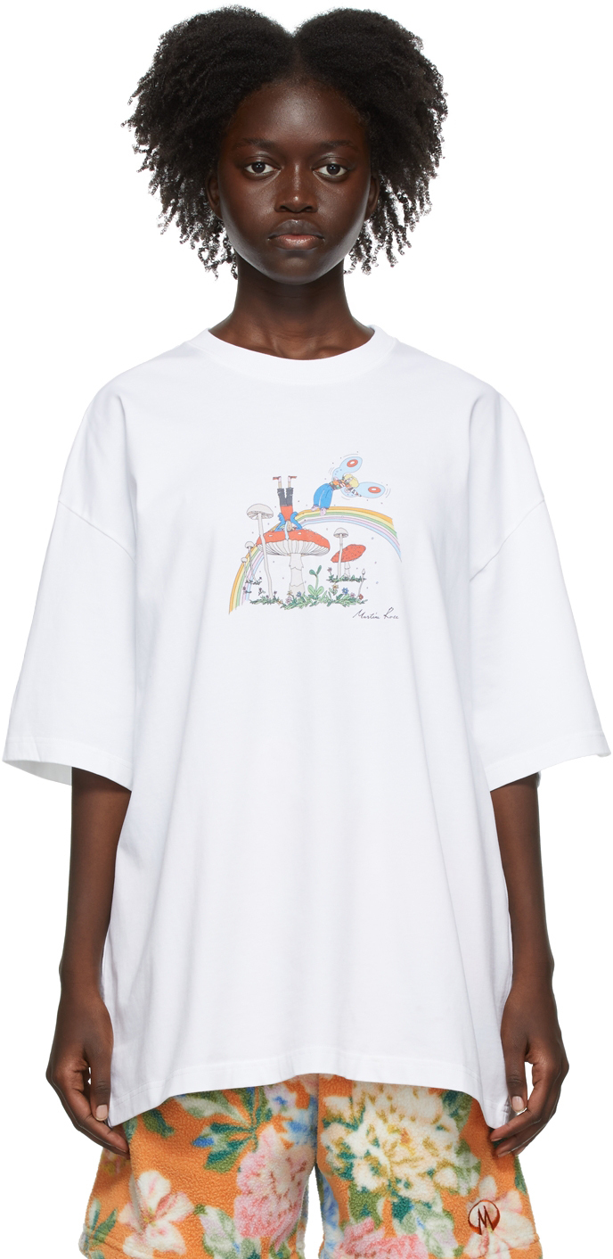 White Brittle T-Shirt