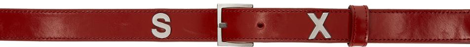 Red Rudy Belt