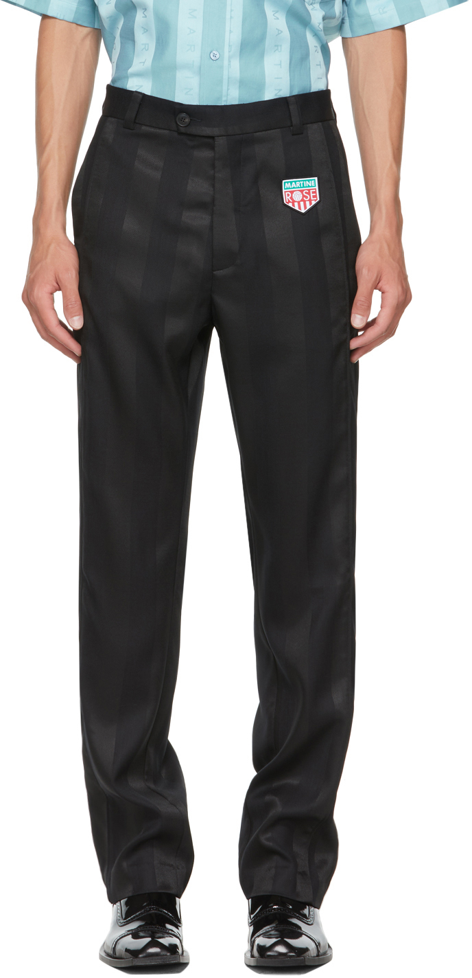 Black Krackel Trousers