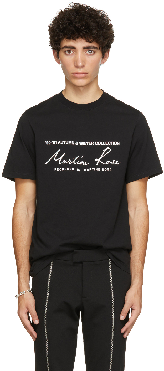 Black Classic Logo T-Shirt