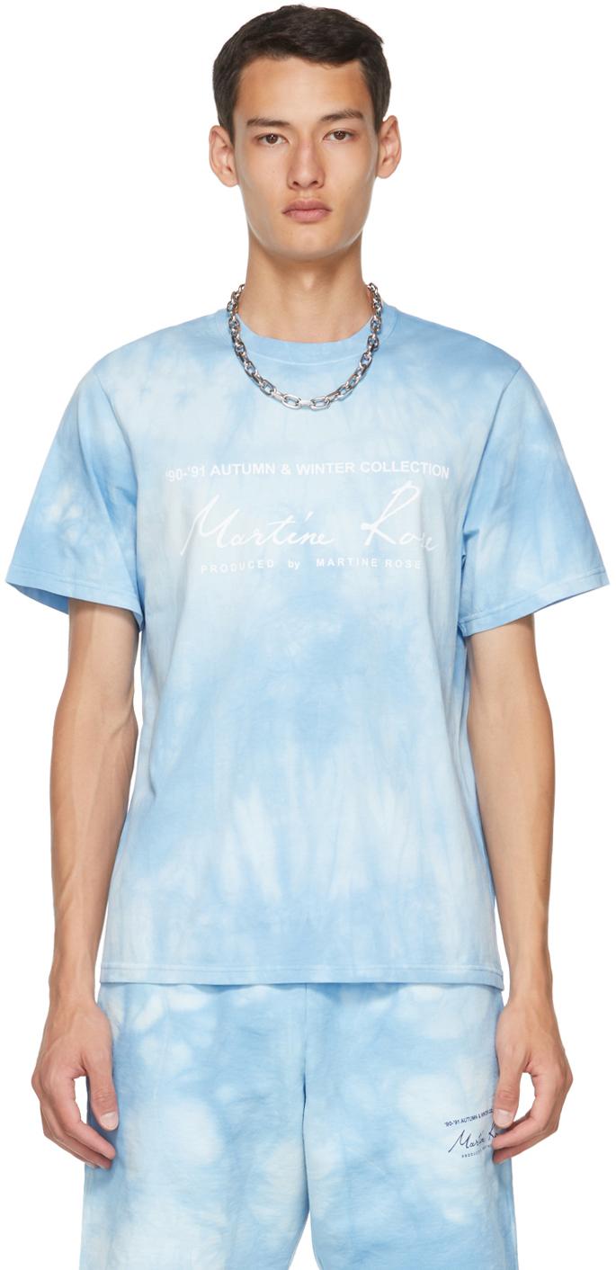 Blue Tie-Dye Logo T-Shirt